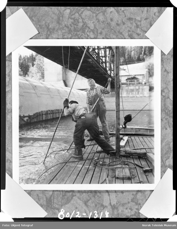Rånåsfoss kraftverk 1918-1930