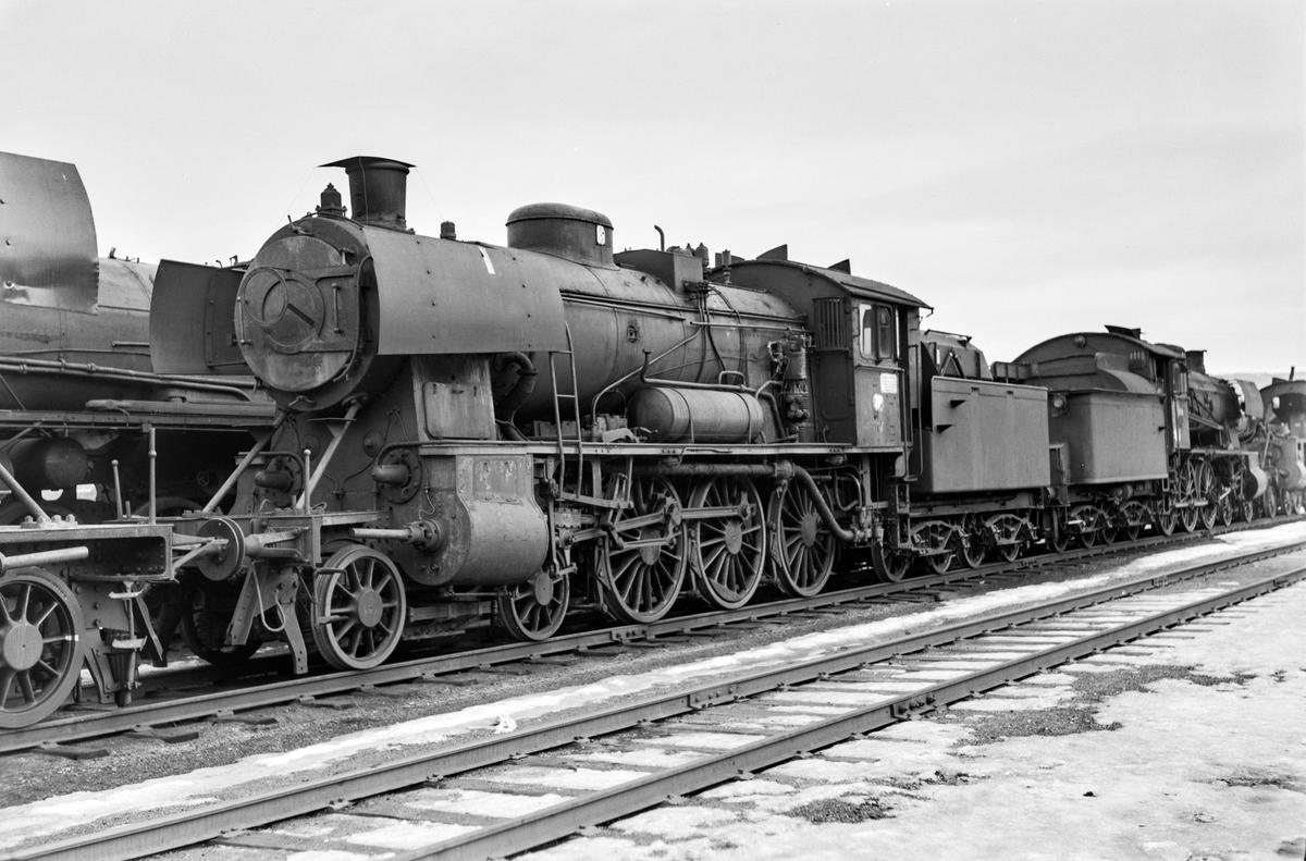 Utrangert damplokomotiv type 30c nr. 467 på Marienborg.