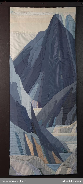 Applikert tekstilbilde