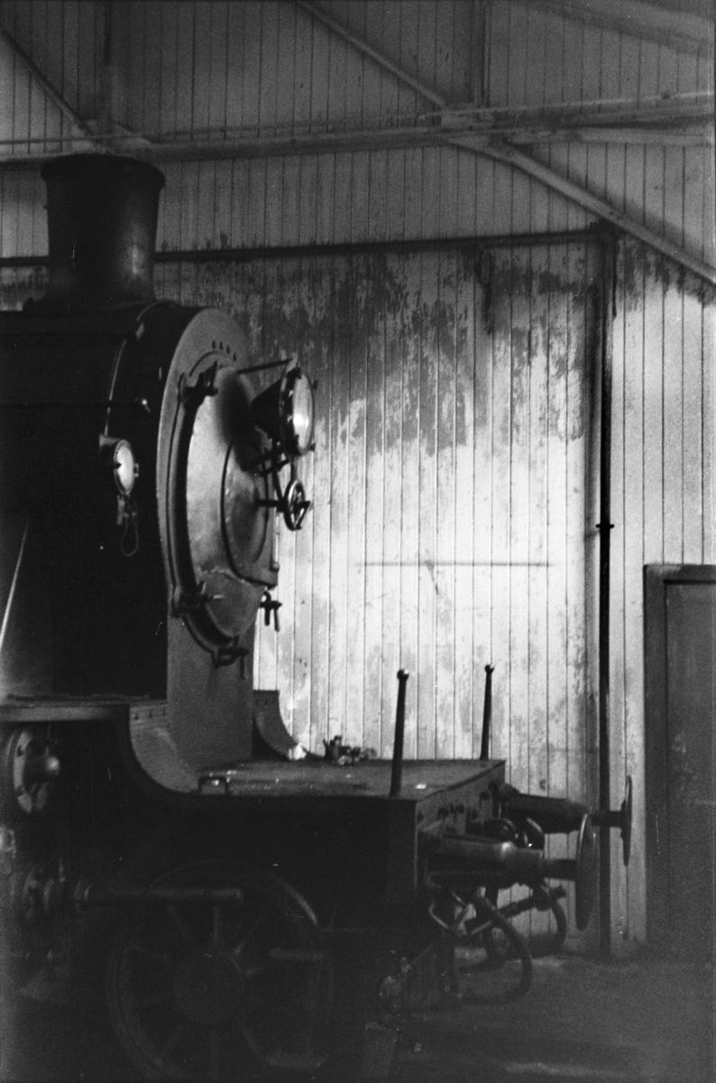Damplokomotiv type 24a nr. 147 i Gamlestallen i Lodalen i Oslo.