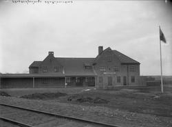 Stationen Hållplats öppnad 5/5 1916  OFVJ. (Oxelösund - Flen
