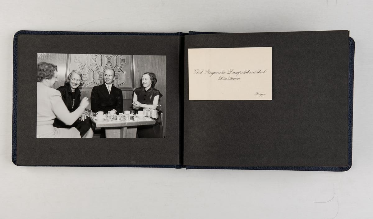 Album med fotografier av m/s 'Nordlys' fra 1951.