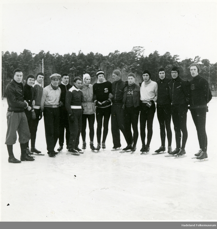 Hans Engnestangen trener skøytetalenter, etter endt karriere