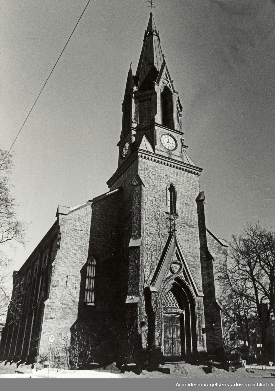 Jacobs kirke. Februar 1987