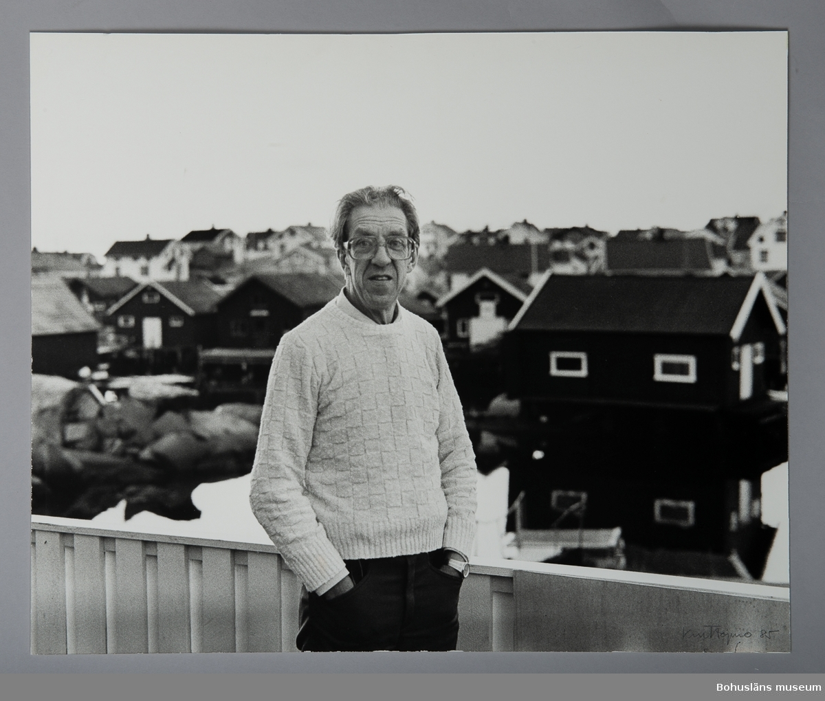 Fotografiskt porträtt Johan Sterner Olsson