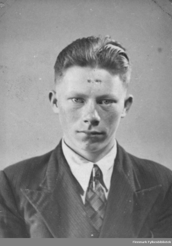 Portrett av Nils Mathisen tatt før krigen.