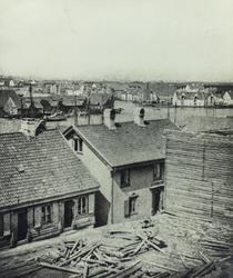 Smedasundet sett mot nordvest, 1869.