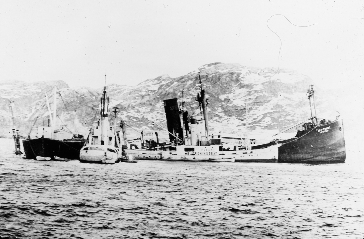 Skipsbjergning av ukjent fartøy