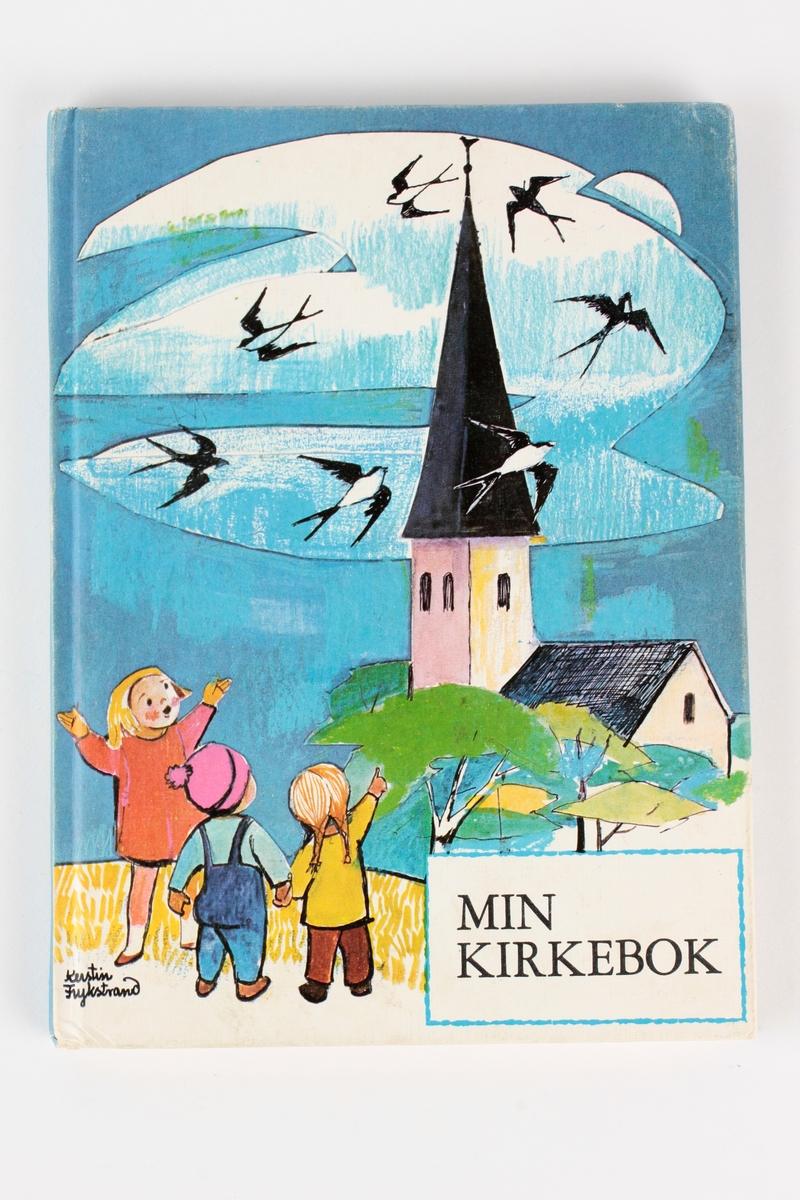 Kirke, barn, fugler