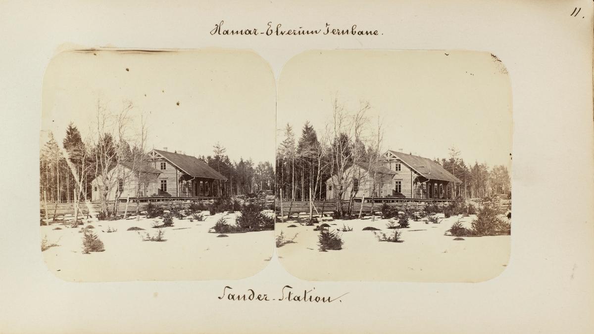 Sande (senere Hørsand) stasjon