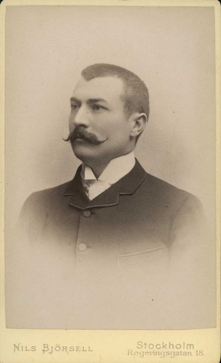 Häradsskrivare Rudolf Matsson.