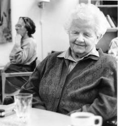 Portrett av kvinne - Elvida Steen