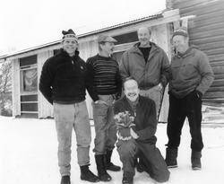 Utdeling av juleglede til Eystein Lunåshaug