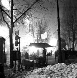 Salgsbod og kiosk ved Stortingsgata.