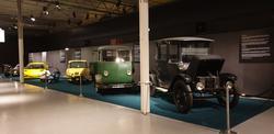 Utställningen Elfordon i Wallenberghallen