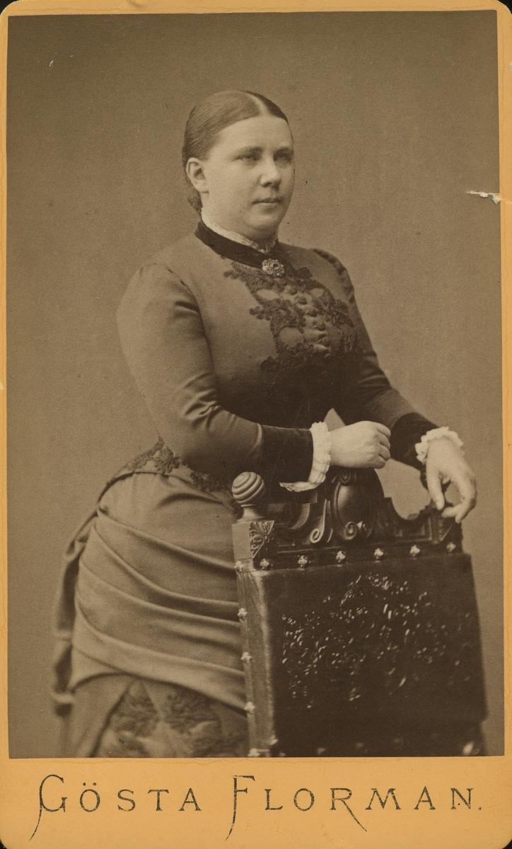 Fru Hilda Backman gift med apotekare Berlin.