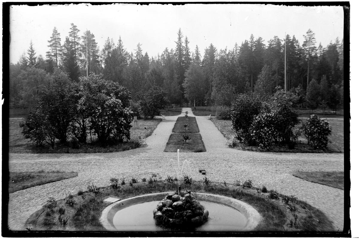 Motiv från Hålahults sanatorium tagna omkring 1910–30.