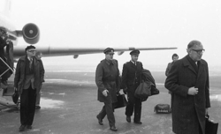 Överbefälhavaren, general Stig Synnergren besöker A 6.