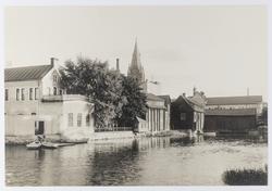 Elgérigården före Södra Strandgatan anlades.