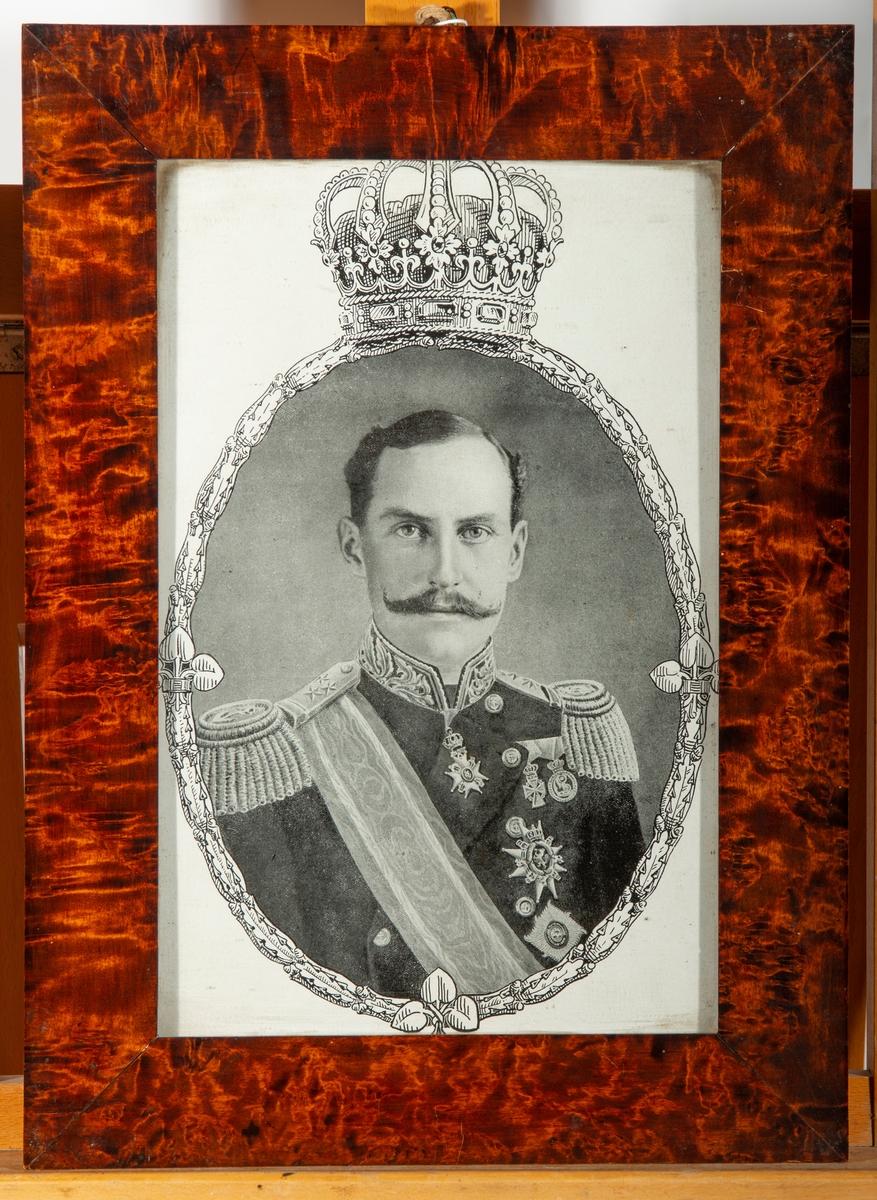 Portrett av Kong Haakon