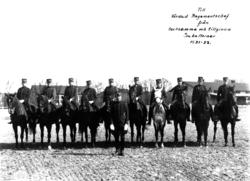 Officersridning 1932.