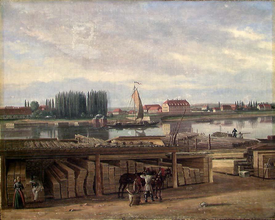 Fra omegnen av Dresden [Maleri]