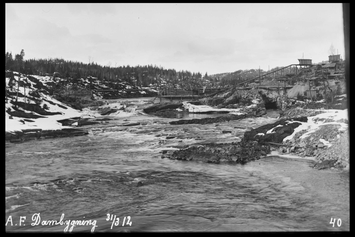 Arendal Fossekompani i begynnelsen av 1900-tallet CD merket 0474, Bilde: 15 Sted: Haugsjå