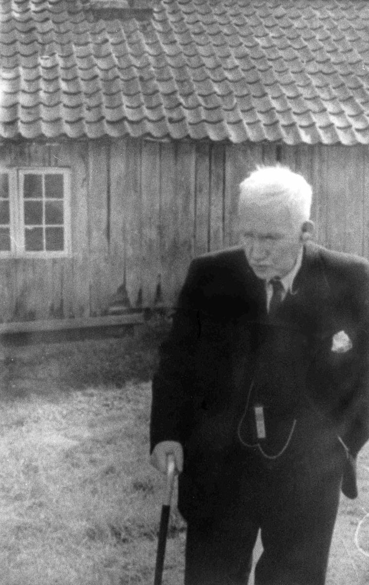 Bilder fra Birkenes kommune Abraham Heimdal i 1952