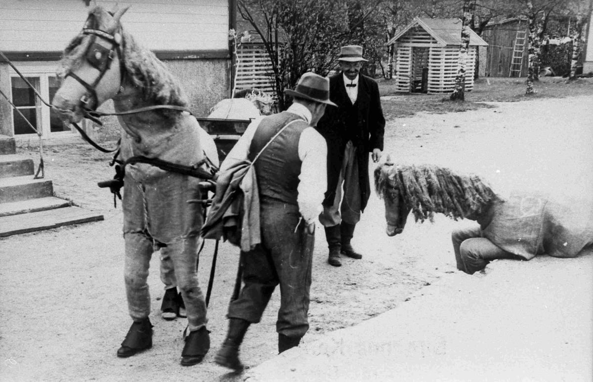Bilder fra Birkenes kommune Kortesjen 17. mai 1954