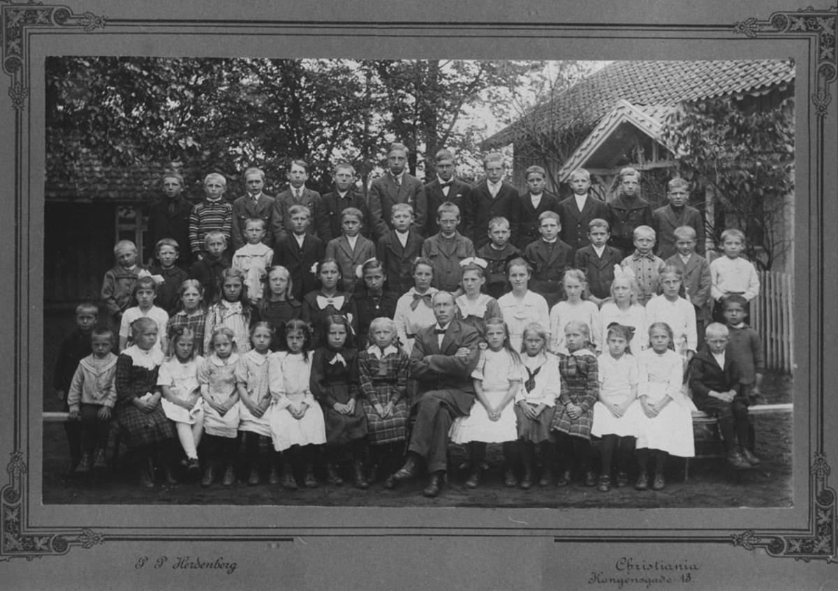 Elever ved Kloppa skole (Bjerke)