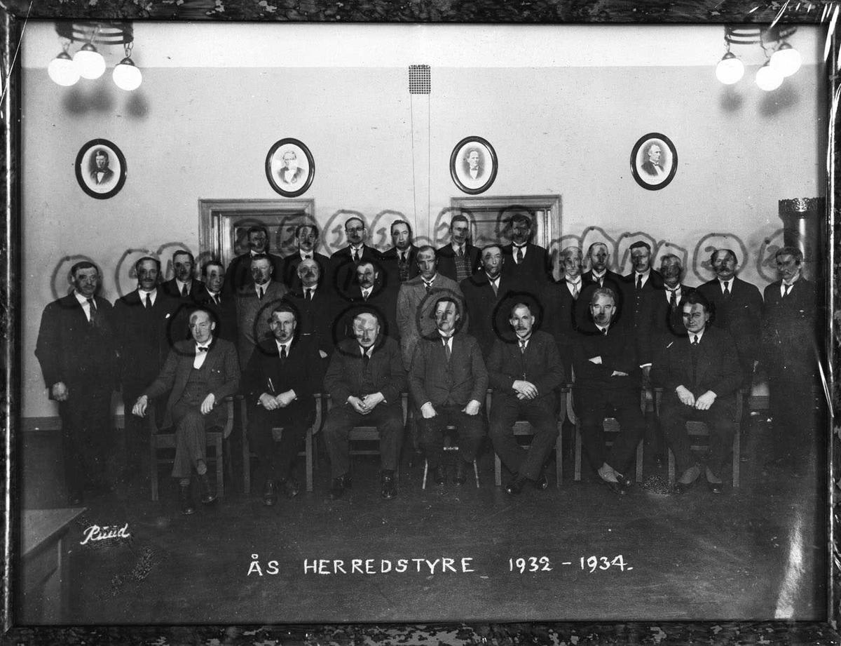 Ås herredstyre 1932 - 1934