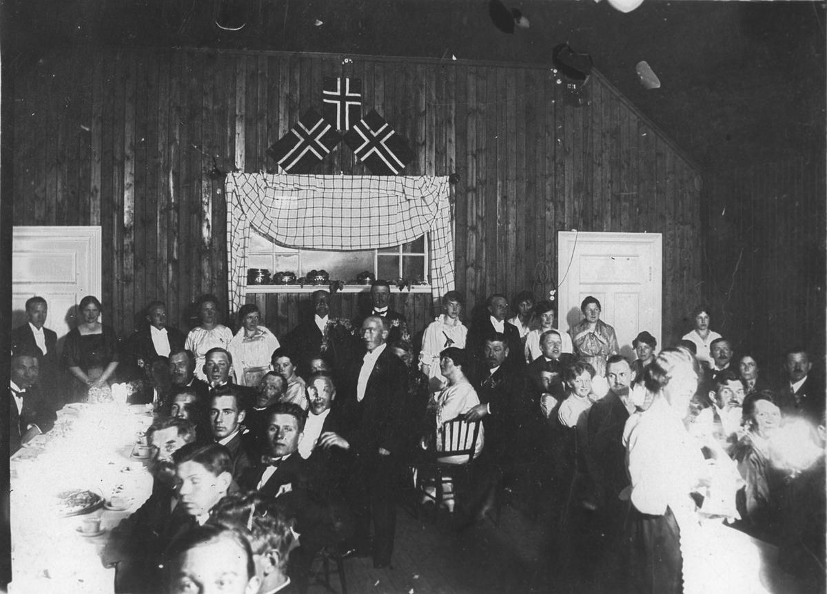 Innvielse av Oppegård Vels lokaler 22/11 1919.