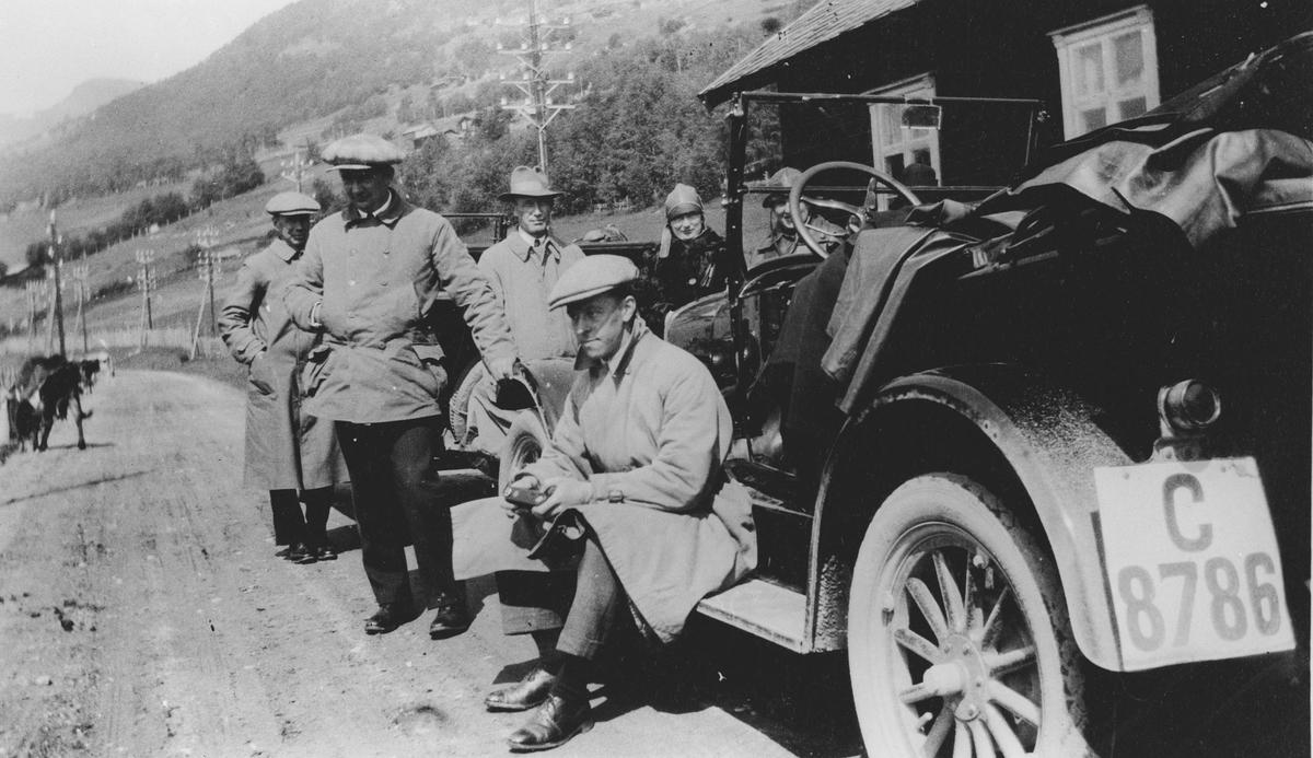 Biltur i Gudbrandsdalen 1927 med T-Forden.