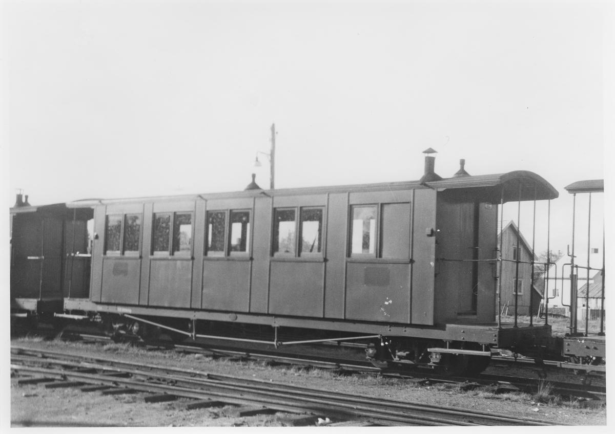 Vogn Co1 hensatt på Bjørkelangen stasjon.