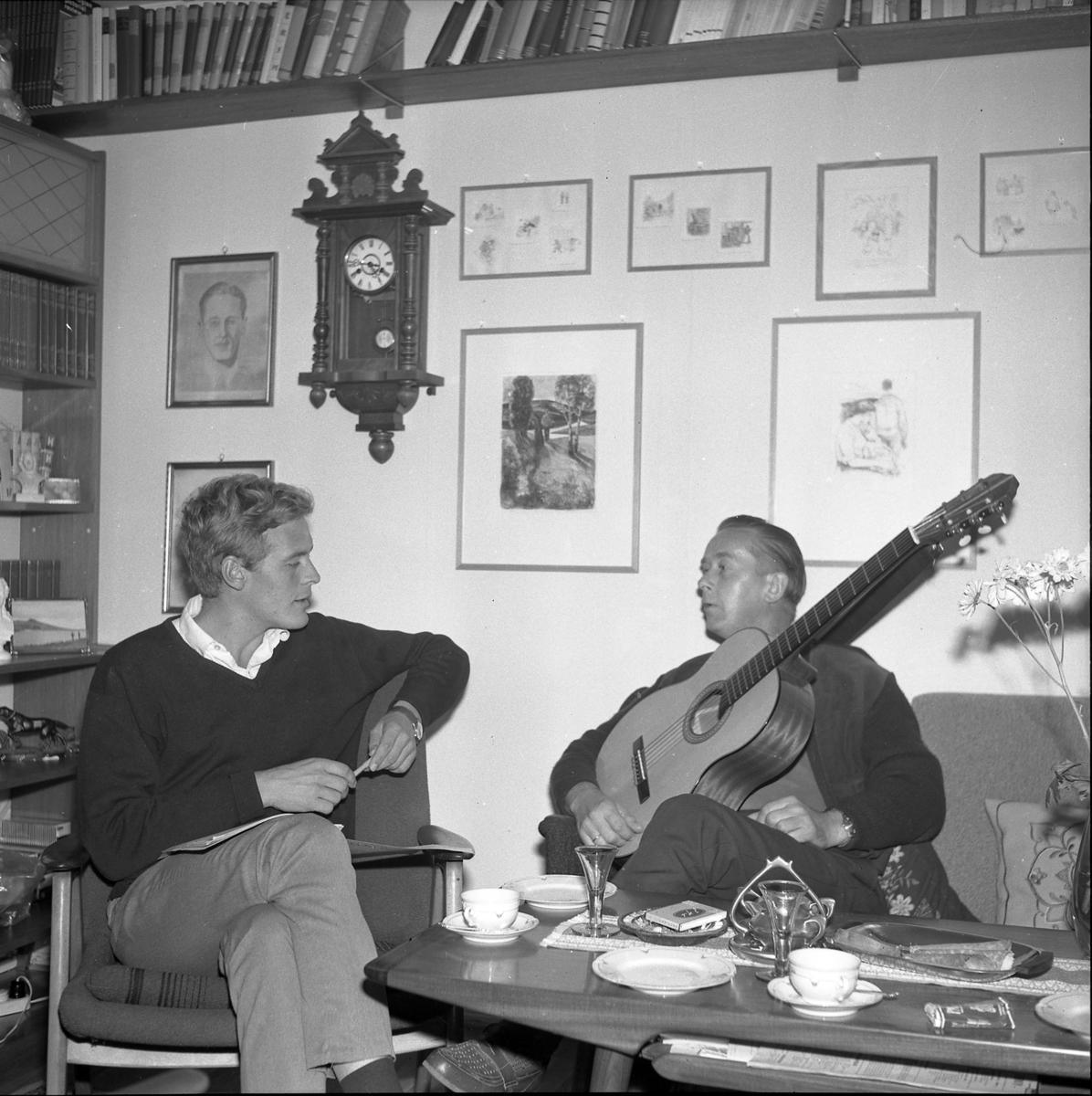 Vidar Sandbeck og Roald Øyen