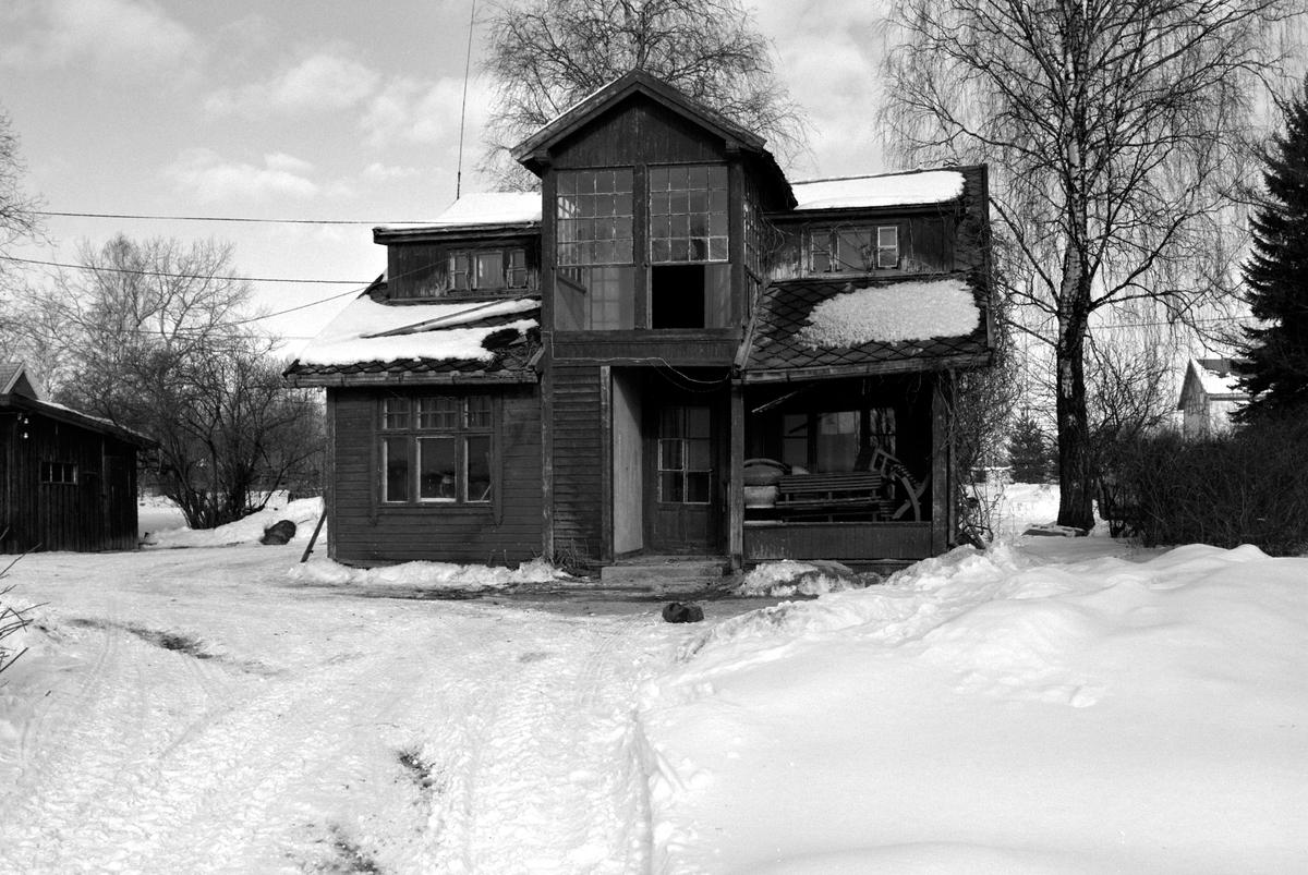 Jønsrudbygningen, Domkirkeodden, vinter.HDH.88.