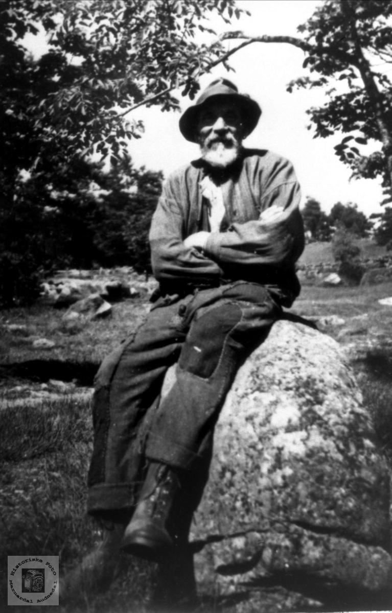 Portrett Kristian Anderson Bjørnestøl, Øyslebø.