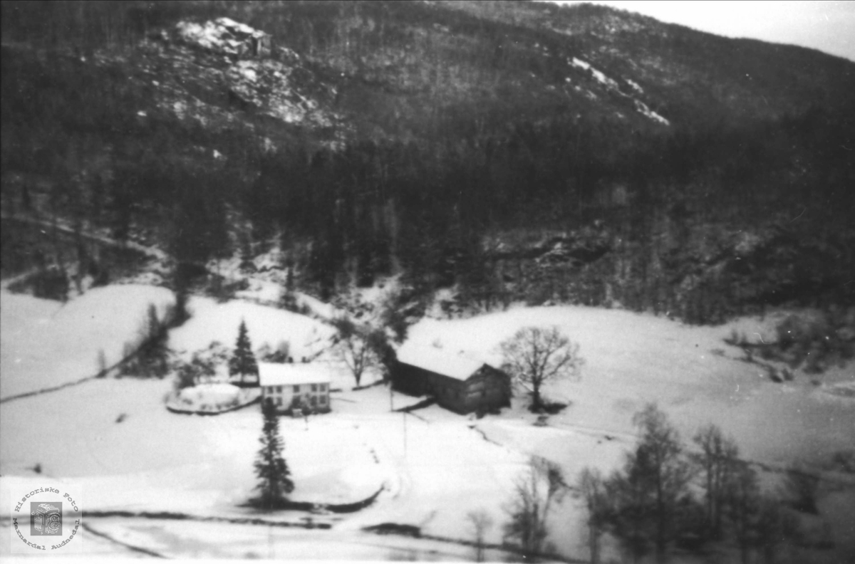 Vollan på Finsdal i Øyslebø.