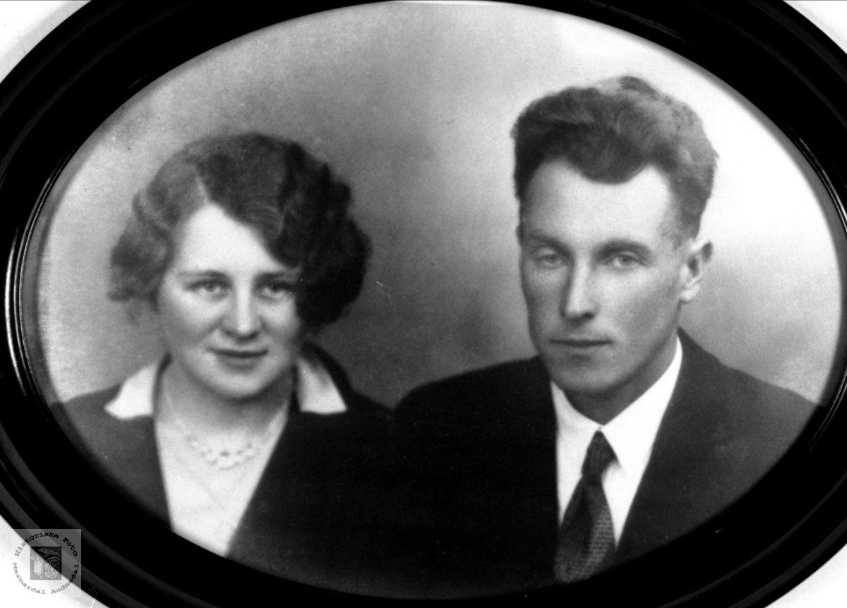 Ekteparet Marie og Ola Engeli, Åseral med etterslekt på Øyslebø.
