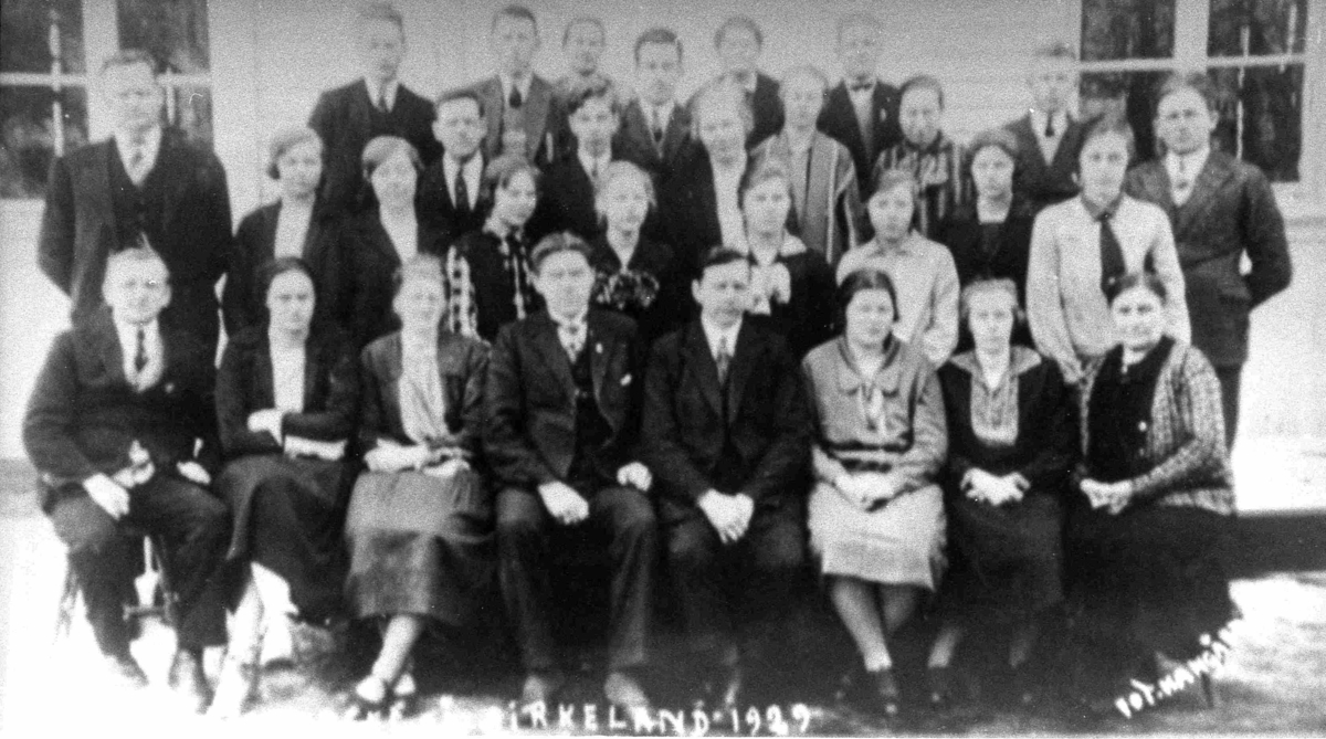 Bilder fra Birkenes kommune Bibelkurs på Birkeland