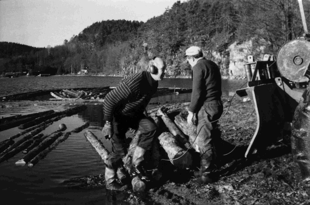 Tømmerfløting - Ormestøl