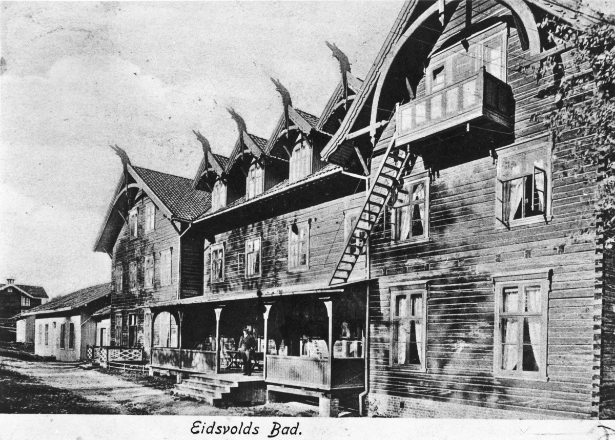 Eidsvoll Bad før 1902.