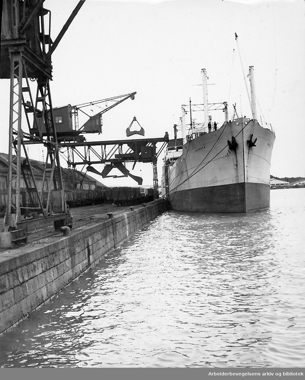 Oslo havn, 1951