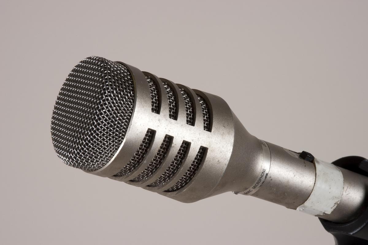 Mikrofon Rockheim DigitaltMuseum
